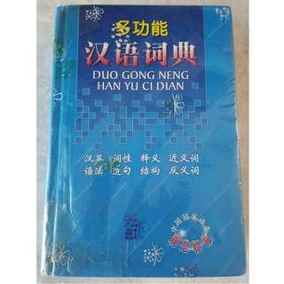 Chinese Dictionary (DUO GONG NENG HAN YU CI DIAN)