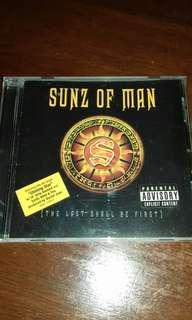 Sunz of Man rare original USA pressing cd used Rap, WU Tang, Hell Razah, Killah Priest, 60 sec assassin, Prodigal sunn , RZA Rap hip hop