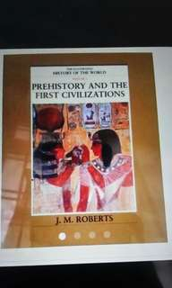 Prehistory and the first civilizations- history of the world