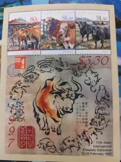 紐西蘭郵票 1997