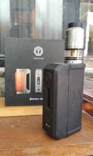 Authentic therion dna 75 + rdta limitless