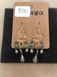 Brand new Earrings fm USA. Unique n 1 design of its own
