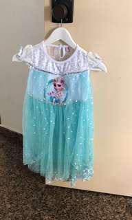 Princess Dress 120cm Ready stock