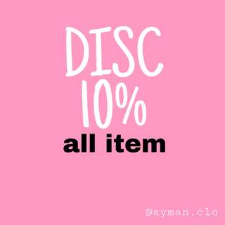 Disc 10%