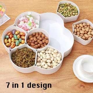 7 in 1 snack storage box (balang kuih raya)