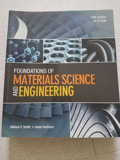 Foundations of Material Science and Engineering