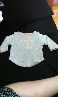 CARTER'S HELLO MY LOVE TOP!