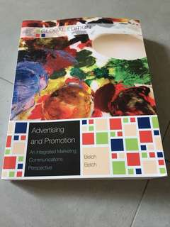 Advertising and Promotion (An Integrated Marketing Communications Perspective)