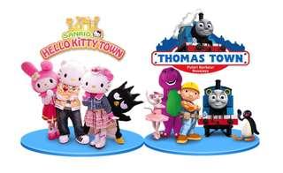 Combo : Hello Kitty Town & Thomas Town