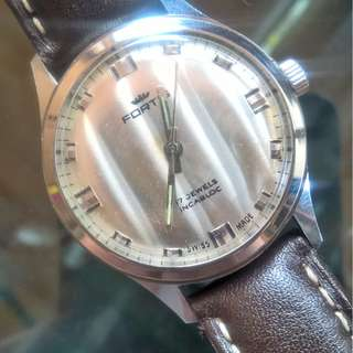 Vintage mint Fortis winding watch