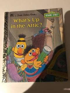 Whats Up In The Attic? - Little Golden Book