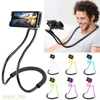 Neck Lazy Pod Phone and Tablet Holder Clip Stand
