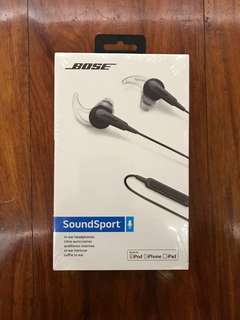 Bose SoundSport in-ear headphones for iOS devices