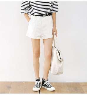 🚚 [新品]夏日中線高腰休閒短褲