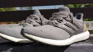 Ultraboost Grey leather cage ltd