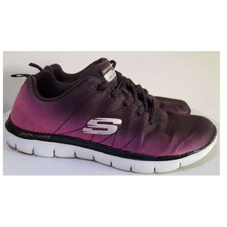 二手鞋 SKECHERS Flex Appeal 2.0 女鞋 休閒鞋 運動鞋 健走鞋 慢跑鞋 跑步鞋 記憶型鞋墊 (附鞋盒)