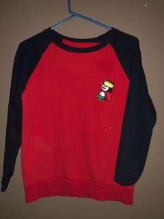 King raglan sweater