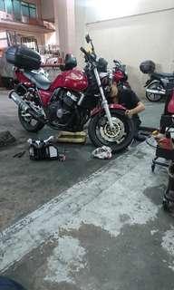 Honda CB400 Ver. S