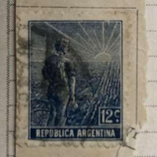 Stamp - Republica Argentina 1911 - Agriculture