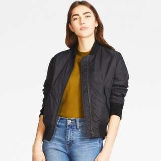 Uniqlo Women MA-1 Blouson Jacket