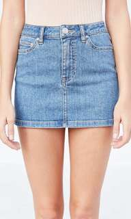 BDG COLETTE MINI DENIM SKIRT