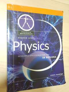 HL Physics textbook for IB
