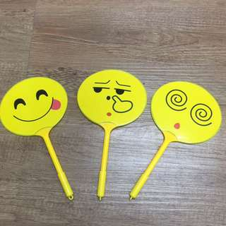 Cute Mini fan ballpen (SET)