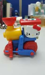 Hello Kitty 絕版車仔玩具