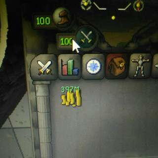 Selling runescape gold