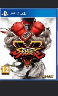 (全新未拆) Street Fighter 5 PS4 美