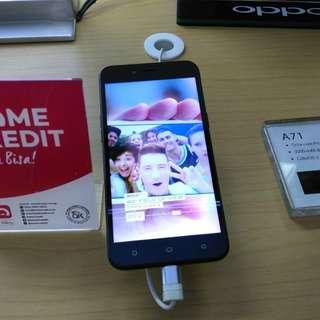 Dijual Oppo A71 Cicilan Pakai Home Credit Bunga 0.99%