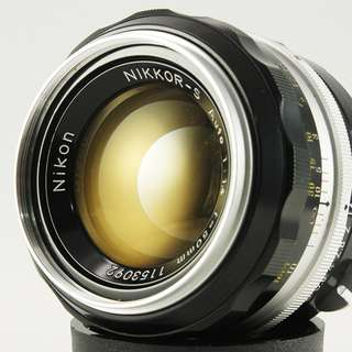 **日光銀鹽** 日鏡 Nikon Non-AI Nikkor-S Auto 50mm F1.4 #092