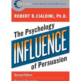 Influence: The Psychology of Persuasion, Revised Edition by Robert B. Cialdini - EBOOK