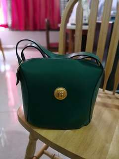 Reduce 1/2 price Hard Leather Handbag