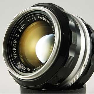 **日光銀鹽** 日鏡 Nikon Non-AI Nikkor-S Auto 50mm F1.4 #613