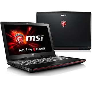 MSI GL62M 7RDX I7 7700HQ 8GB 15.6 FHD Kredit Free 1x Angsuran