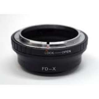 CANON FD LENS TO FUJI X ADAPTER