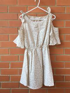 Cute cold shoulder dress