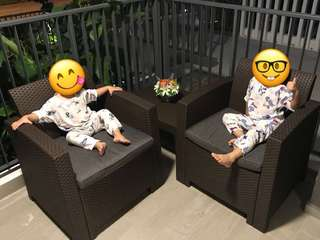Less than a month Outdoor Sofa Set for sale