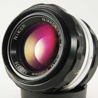 **日光銀鹽** 日鏡 Nikon Non-AI Nikkor-S.C. Auto 50mm F1.4 #278