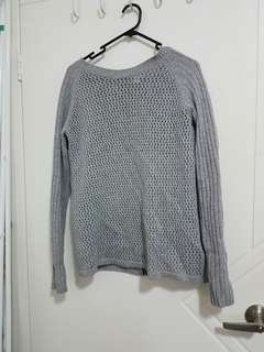 Witchery grey knit jumper