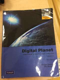 IT1001 - Digital Planet: Tomorrow's Technology and You 10th Education