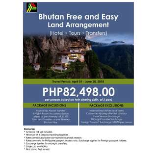 Bhutan Free and Easy Land Arrangement