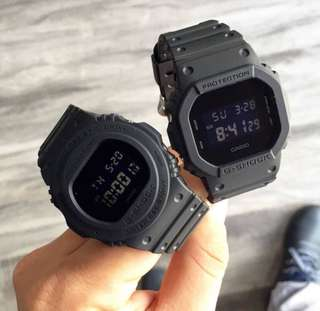G-SHOCK DW-5650E(LEFT P4995) & DW-5600BB (RIGHT P6995)