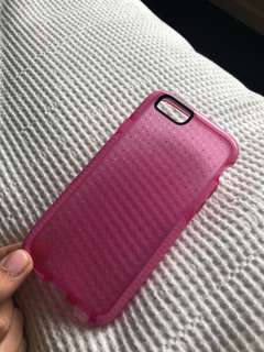 Tech 21 Pink IPhone 6 phone case