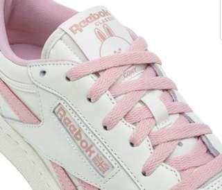 1f43fc09921fd Reebok Classic X Line Friends Pink Choco Sneaker CN8430