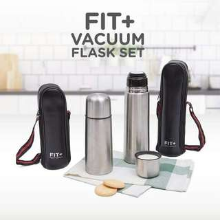 Fit + Vacuum Flask Set