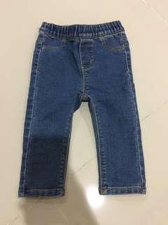 Baby poney jeans legging