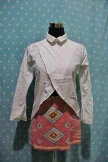 White polo sleeves