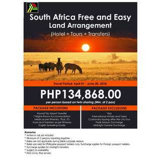 South Africa Free and Easy Land Arrangement